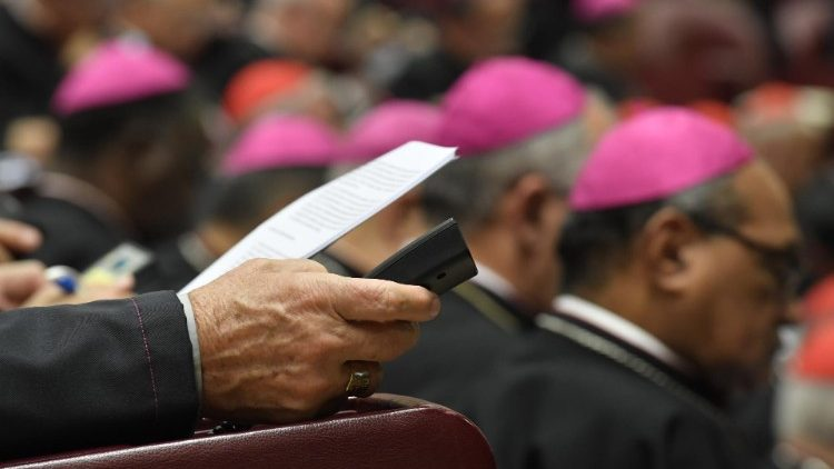 File photo from the 2019 Synod of Bishops